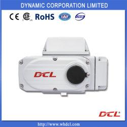 Dcl kompakte Vierteldrehung-elektrischer Stellzylinder zum Regelventil mit Fabrik-Preis, kompakter elektrischer Stellzylinder für Kugelventil und Drosselventil