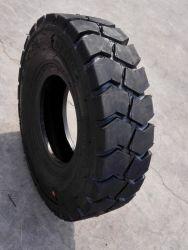 압축 공기를 넣은 단단한 포크리프트 타이어 산업 타이어 28*9-15 8.15-15