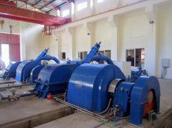 turbine 1500kw Pelton/de HydroTurbine van de Impuls met Twee Pijpen voor HydroElektrische centrale