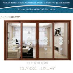 Алюминиевые раздвижные двери с полого стекла от Фошана