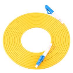 заводская цена оптоволоконный кабель Patch кабель Sm Оптоволоконный патч кабель LC Upc 3D-тестирования в режиме односторонней печати утверждения Patch кабель волокно