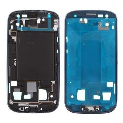 Средняя крышка рамы корпуса для Samsung Galaxy S3 AT&T-T-Mobile I747 T999 синего цвета