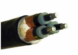 De gepantserde Elektro van de Kabel 33kv 3 van de Kern 185mm2 Al/van XLPE/van pvc Druk van de Inkt