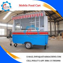 Concession de téléphonie mobile de haute qualité Churros remorque alimentaire