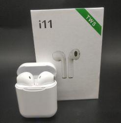 I11 Tws Bluetooth 5.0 Draadloze Oortelefoons van Oortelefoons MiniEarbuds I7s met Mic voor iPhone X LG van 7 8 Samsung S6 S8 Xiaomi Huawei