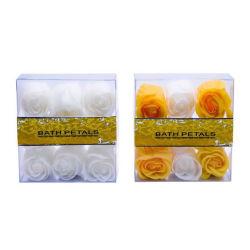 Elegante OEM / Natural Flor de sabão, , Formato de flores coloridas confete sabão de óleo essencial da fábrica