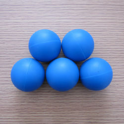 Pelota de goma, neopreno, bola NBR Ball, balón de silicona para la industria de la junta (3A1005)