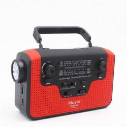 Linterna con radio móviles de energía solar multifunción Tarjeta Bluetooth Stereo