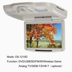 12.1 Inch Roof DVD with USB/SD (MP5), FM Transmitter, Wireless Games (OS-1215D)