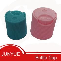 بلاستيكيّة يعبّئ, زجاجة غطاء