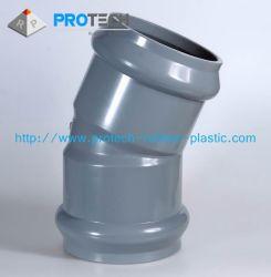 Пластичный штуцер трубы, пластичный локоть, пластичное соединение