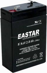 6V de Zure Batterij van het 2.8ahLood (EA628)