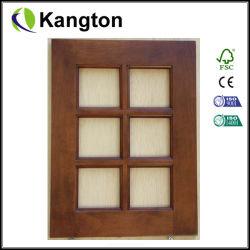 Portas do armário de cozinha Frontal de Vidro (porta do gabinete)