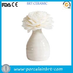 Cerámica Mini difusor de aroma de flores en florero Presup.