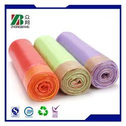 Fornitura Cina in borsa per rifiuti in HDPE con profumo colorato in rotolo