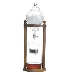 Bd8 Amazônia Venda quente de 5 a 8 xícaras de Syphon Filter Japonês Frio Vidro Brew Iced Máquina de Café Glass/ Sistema antipingos (Holandês) de café Espresso Maker