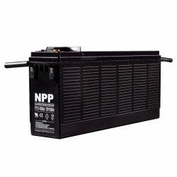Npp FT12 12V 105ah 정면 접근 건전지는 정면 끝 건전지 벨브에 의하여 통제된 납축 전지 FT12-105ah SLA 건전지를 대체한다