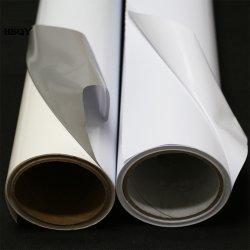 Material de publicidad digital Inkjetable Eco solvente Vinilo autoadhesivo blanco imprimible auto adhesivo para la Impresora Plotter