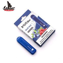Commerce de gros 3pcs Pack Minibar Système fermé sous étiquette privée jetables Cigarette électronique