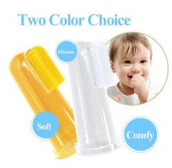 소프트 칫솔 어린이용 신생아 유아용 소형 미니 실리콘 칫솔