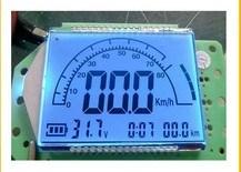 Positivo FSTN LCD transmisivo de coches