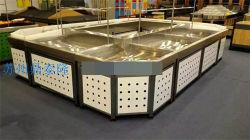 Fabrik Direktversorgung Kommerzielle Glas Kuchen Display Schrank / Acryl Dessert Schauständer/Backwaren Brot Kuchen Display/Supermarkt Chille Lagerung Regale