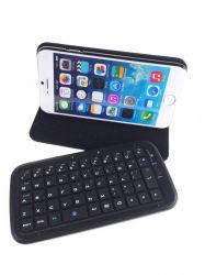 iPhone 6s/Samsung를 위한 가죽 Bluetooth Keyboard