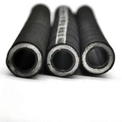 Flessibile idraulico in gomma per escavatore SAE R1 R3 R2 R4 Alto Tubo flessibile di pressione flessibile dell'olio per temperatura idraulica