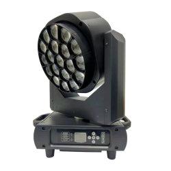 كاميرا جديدة طراز 19X15W طراز RGBW 4 في 1 LED عيون Bee كبيرة اغسل مصباح الرأس المتحرك
