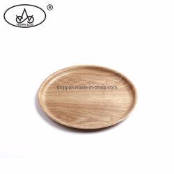 合板の木製コーヒーレストランホテルアンチスリップフードキッチエンウェアサービングトレイ