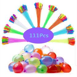 Вода шаров 111ПК/Pack быстрого заполнения летние игрушки бомба игры Toy группа воздушных шаров шарики воды из двери игры