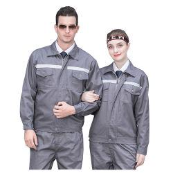 Mola de OEM Outono Uniforme de trabalho casacos e CALÇAS ALGODÃO roupas de trabalho