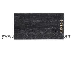 Pellicola per stampaggio a caldo di tipo legno nero per parete di griglia in PS/PVC Decorazione a doghe