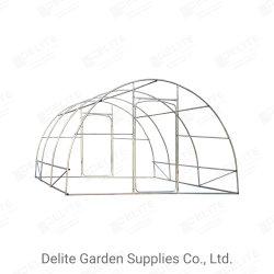 Effet de serre Polytunnel Commercial 4 x 4 m de la couche de poulet cage en acier préfabriqués Jardin de la maison d'outils d'équipement