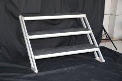 Het Aluminium die van de Prijs van de fabriek de Bewegende Stap van de Trede voor Stadium vouwen