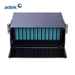 Лучшее качество 4u 144 порт оптоволоконный патч-панели для центра обработки данных
