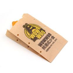Kraft 종이 빵집 부대, 식료품 백을%s 종이 봉지