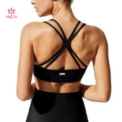 Entraînements actifs de remise en forme de vêtements haut du réservoir de culture personnalisé des vêtements de sports yoga femmes Soutien-gorge de sport