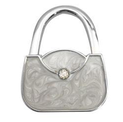 ملحقات حقيبة السيدة طي حقيبة اليد تعليق حقيبة اليد خطاف حقيبة اليد مع صورة مدمجة