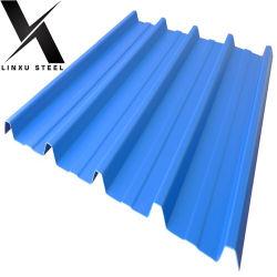 Linxu Vendita a caldo all'ingrosso PPGI metallo corrugato zincato