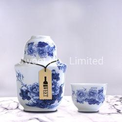 Китай элегантный белый и синий фарфоровые вазы форма ради расширительного бачка