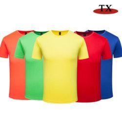 De Slijtage van de Sport van de T-shirt van de promotie In het groot Mensen Van uitstekende kwaliteit van het Embleem van de Douane