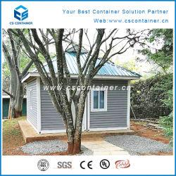 Contêiner de 20 pés casas para viver com revestimento de painéis e mobiliário