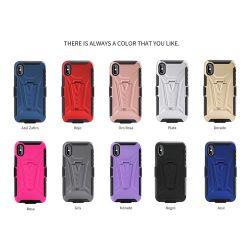Негр Combo гибридный доспехи ИЗ ТЕРМОПЛАСТИЧНОГО ПОЛИУРЕТАНА корпуса ПК стойки задней крышки для Huawei P40 PRO противоударная чехол для Samsung M30s S20 Плюс ультра дела