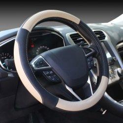 Cuir synthétique en PVC de gros universel de voiture en cuir le couvercle du volant