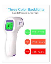 Termometro medico più esatto infrarosso del corpo di febbre del termometro di Digitahi