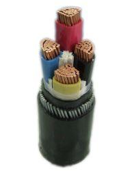 전기 0.6 / 1kV 4 코어 120mm2 Swa 장갑 PVC를 지하에 봉입했습니다 전원 케이블