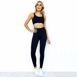 熱い販売の体操の摩耗の一定の女性のスポーツのカスタム適性の摩耗の高いウエストのレギングのブラの衣類の適性のセクシーなヨガの摩耗の一定の衣服