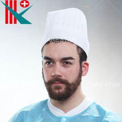 Jetable en polypropylène PP/Chef Non-Woven Hat pour l'hôtel / Cook's Cap