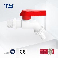 Machine Waching PVC Robinet eau du robinet en plastique et la soupape d'angle du bassin de jardin en plastique d'Ivoire Faucet offre OEM